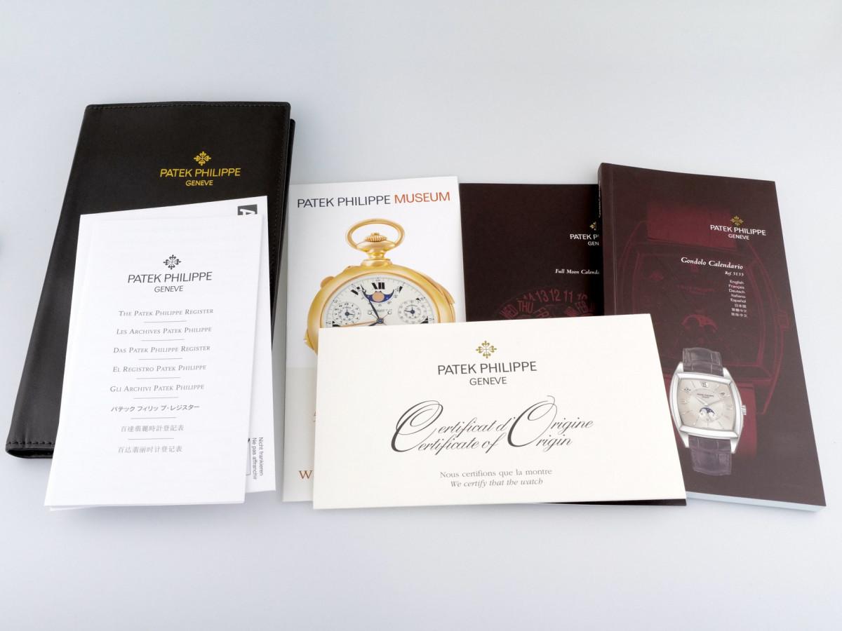 Швейцарские часы Patek Philippe Gondolo Calendario Annual Calendar Complications 18K Rose Gold