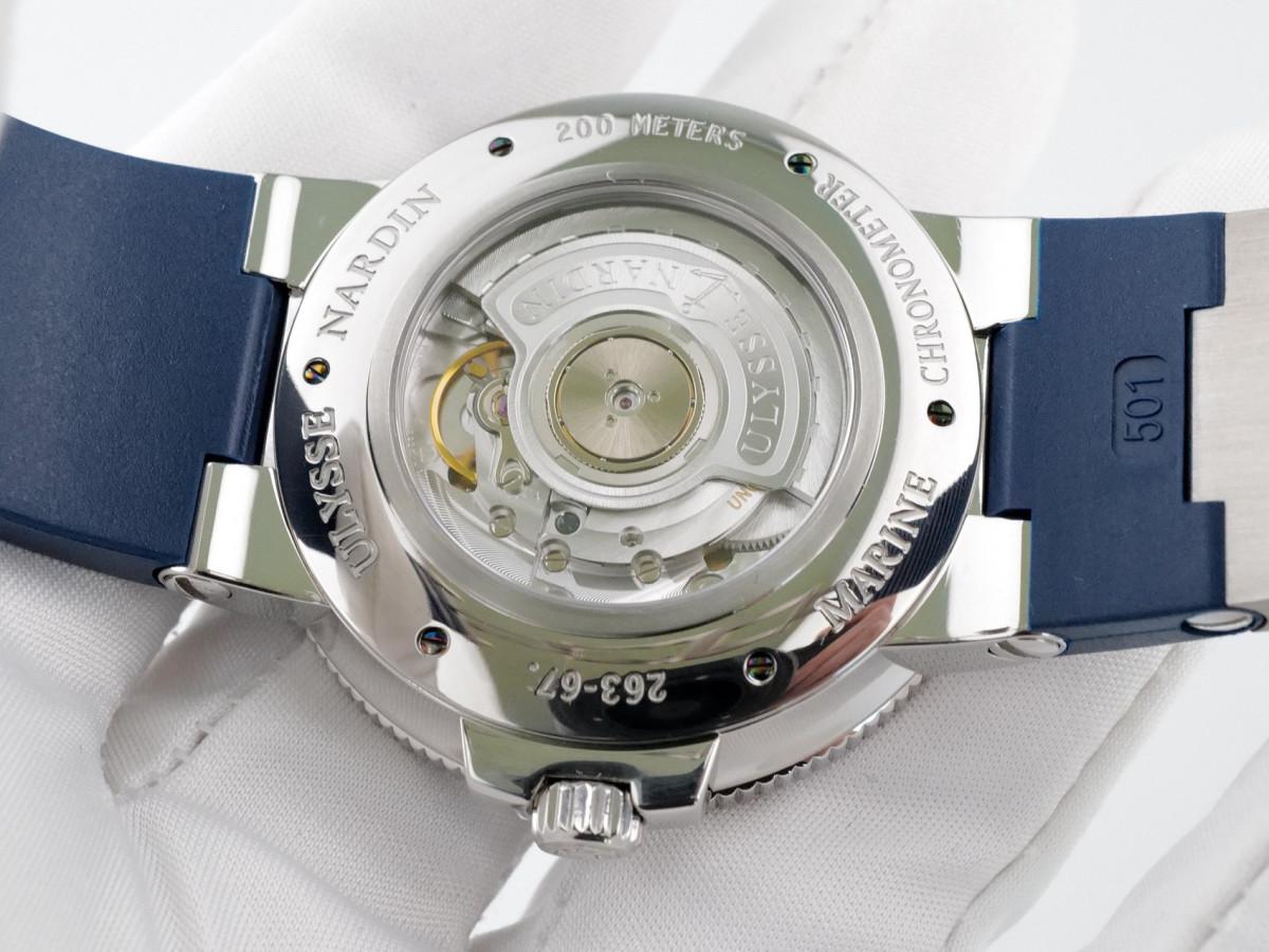 Швейцарские часы Ulysse Nardin Maxi Marine Chronometer Blue Dial