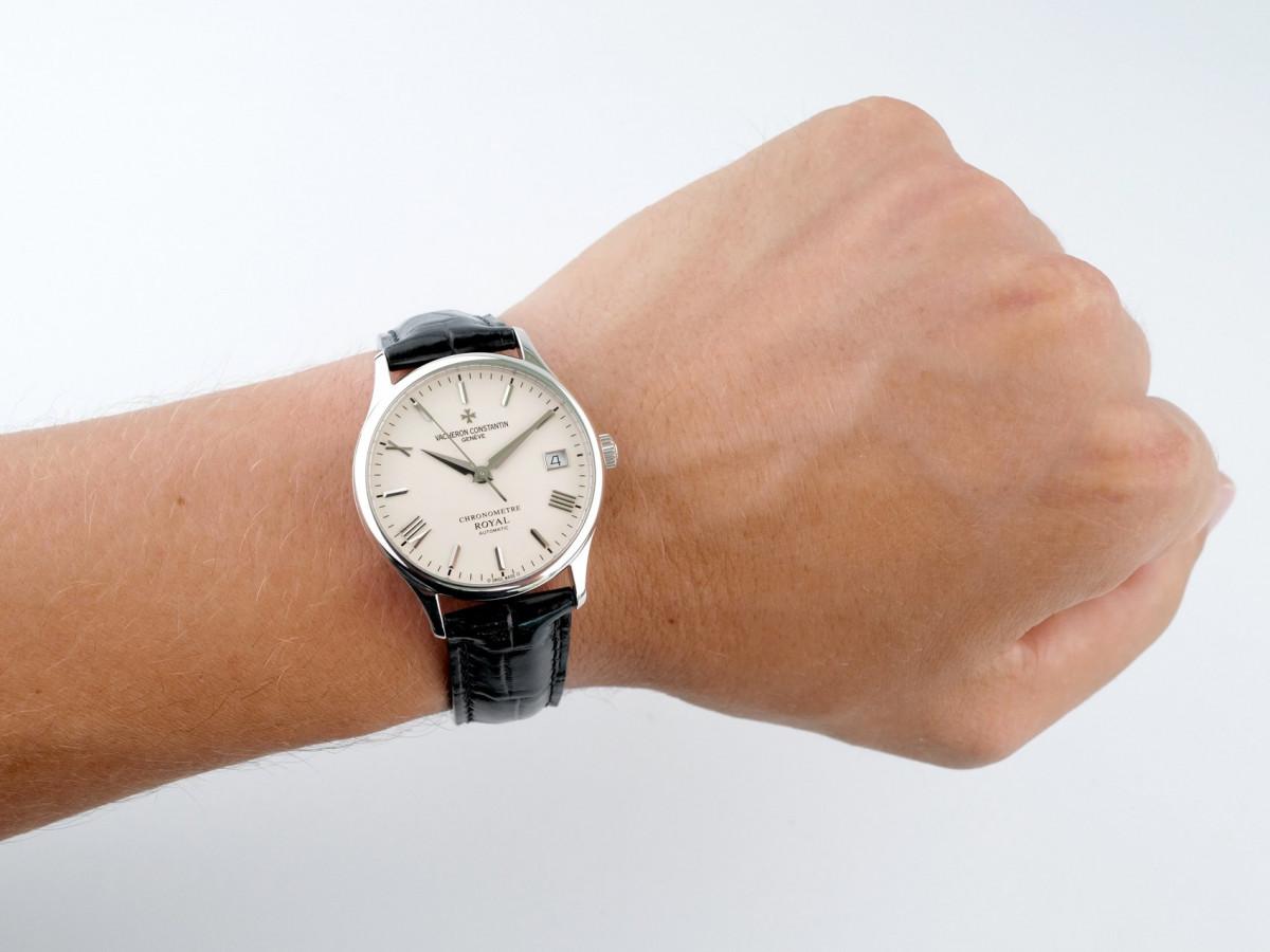 Швейцарские часы Vacheron Constantin Patrimony Chronometer Royal 18K White Gold