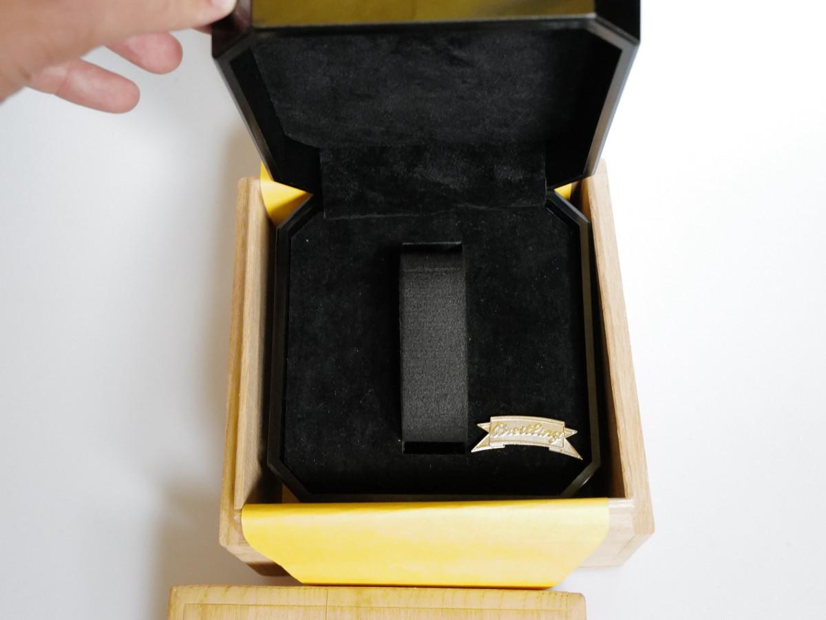 Швейцарские часы Breitling Chronomat UTC Gold Steel