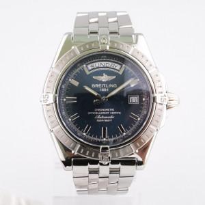 Швейцарские часы Breitling Headwind Day-Date Blue Dial