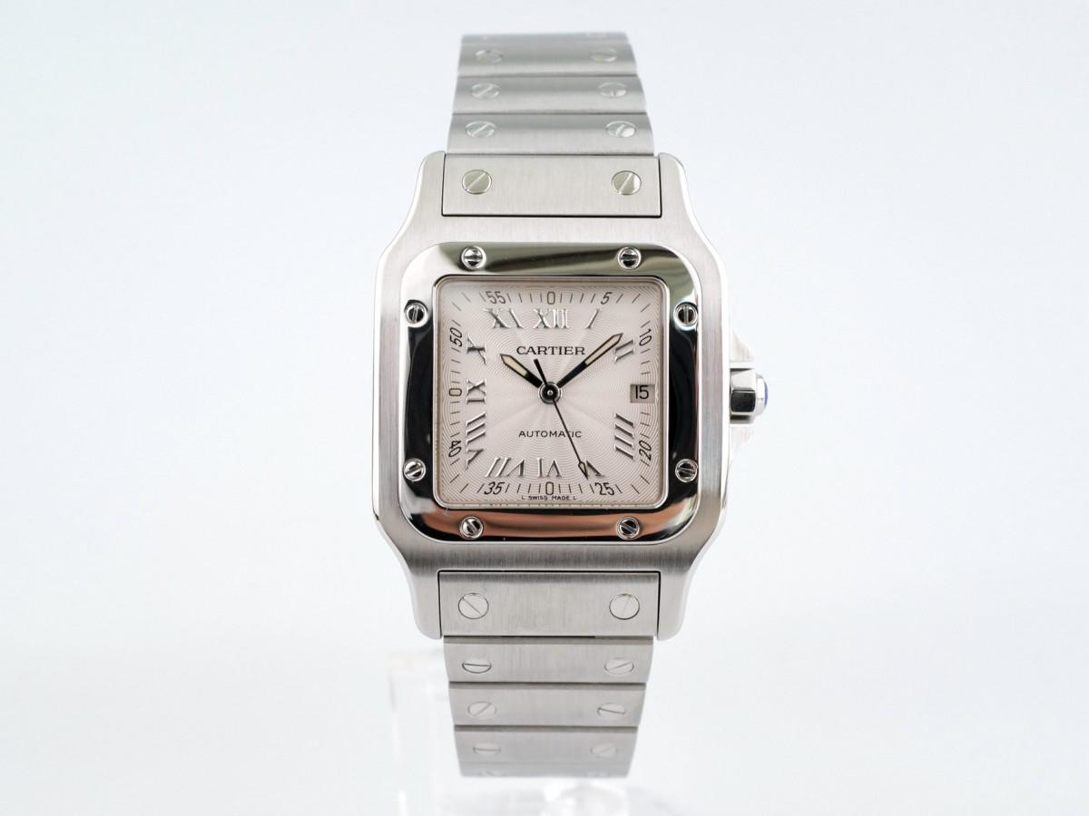Швейцарские часы Cartier Santos Galbee Applied Indexes