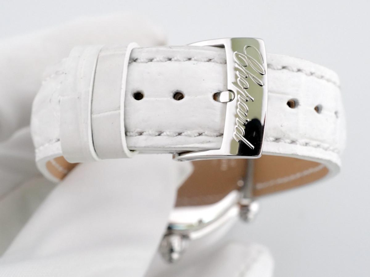 Швейцарские часы Chopard Happy Sport Diamond Snowflake 18kt White Gold Steel