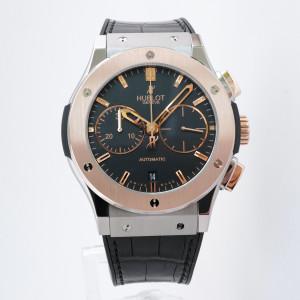 Швейцарские часы Hublot Classic Fusion Chronograph Titanium King Gold