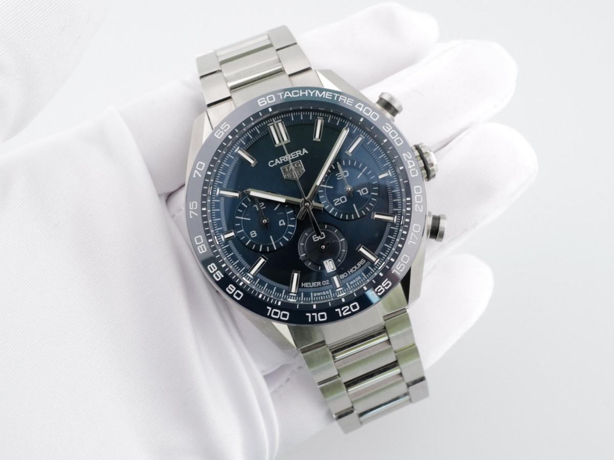 Швейцарские часы TAG Heuer Carrera Calibre HEUER 02 Chronograph