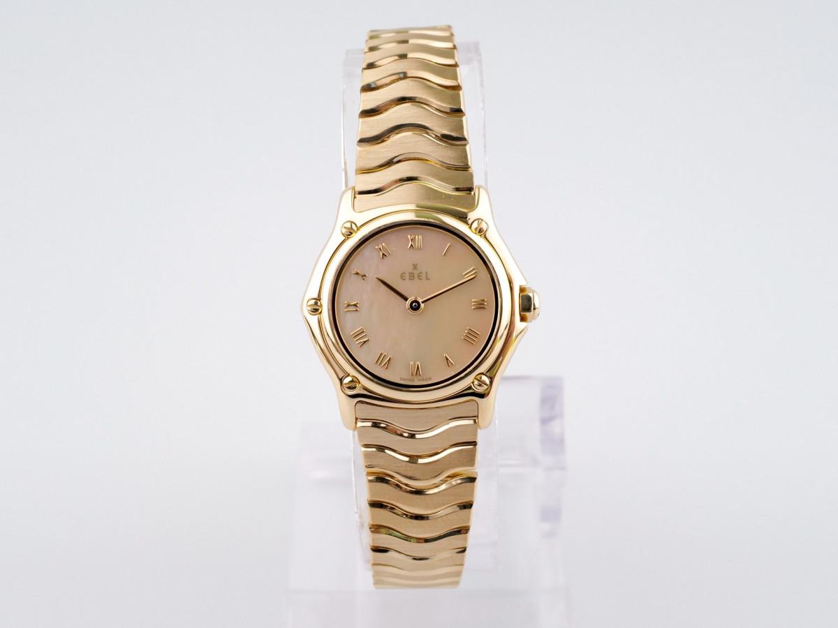 Швейцарские часы Ebel Classic Wave 18k Yellow Gold Ladies Mop Dial