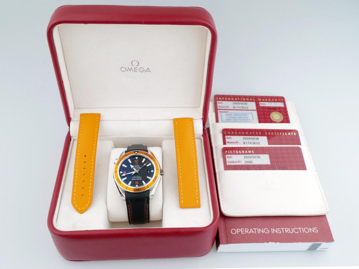 Швейцарские часы Omega Seamaster Planet Ocean Orange