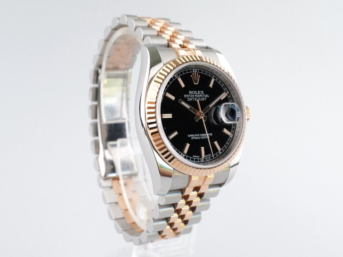 Швейцарские часы Rolex Datejust 36mm Steel and Everose Gold