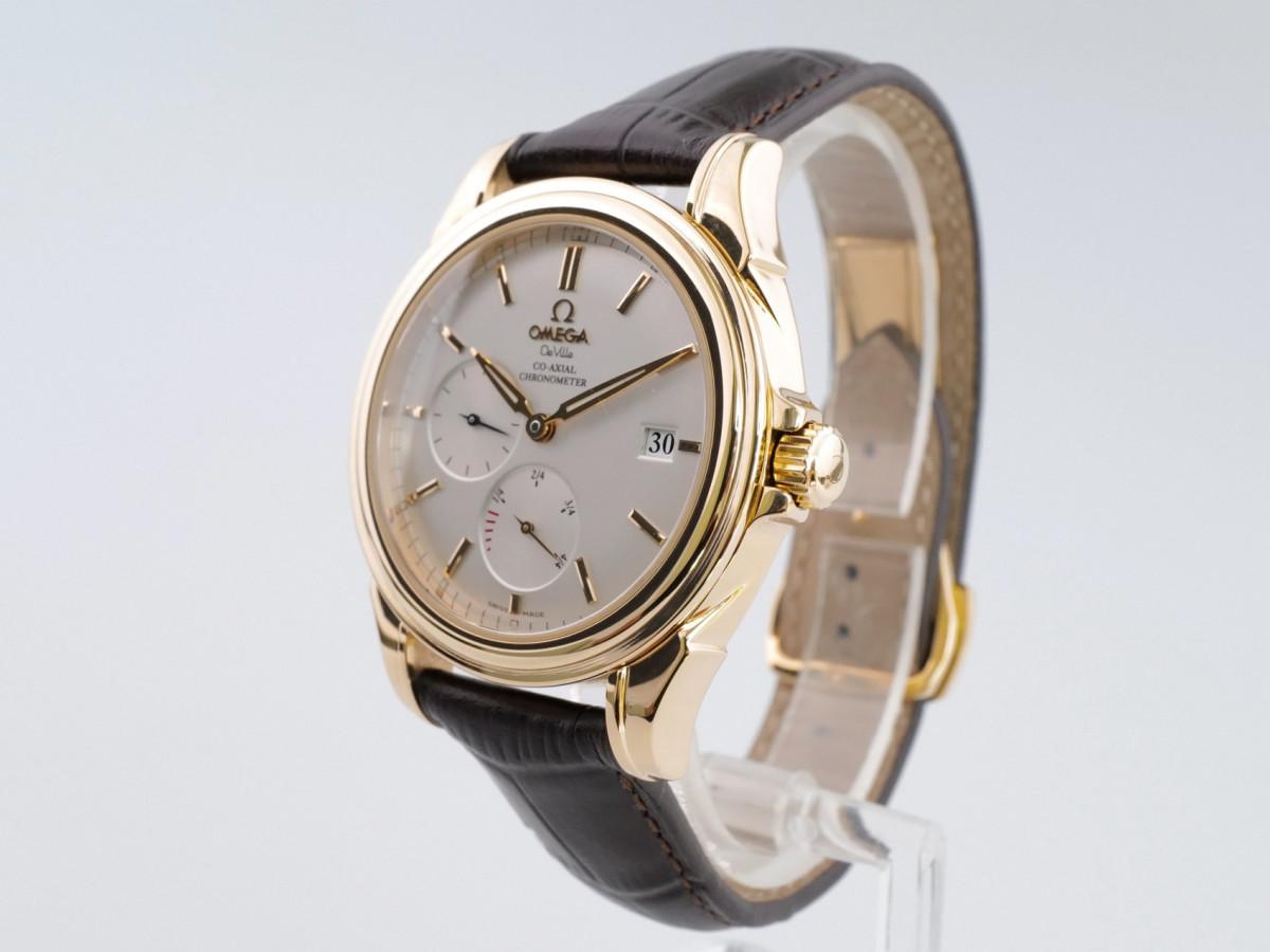 Швейцарские часы Omega Co-Axial Power Reserve 18K Yellow Gold