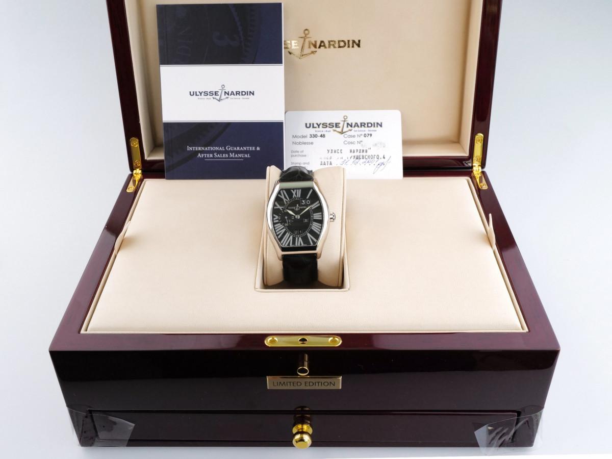 Швейцарские часы Ulysse Nardin Ludovico 18K White Gold Perpetual Calendar