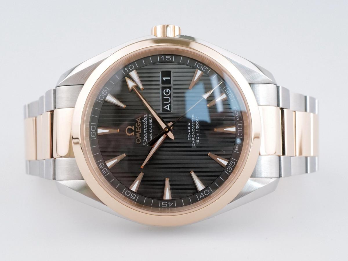 Швейцарские часы Omega Seamaster Aqua Terra Co-Axial Chronometer Annual Calendar