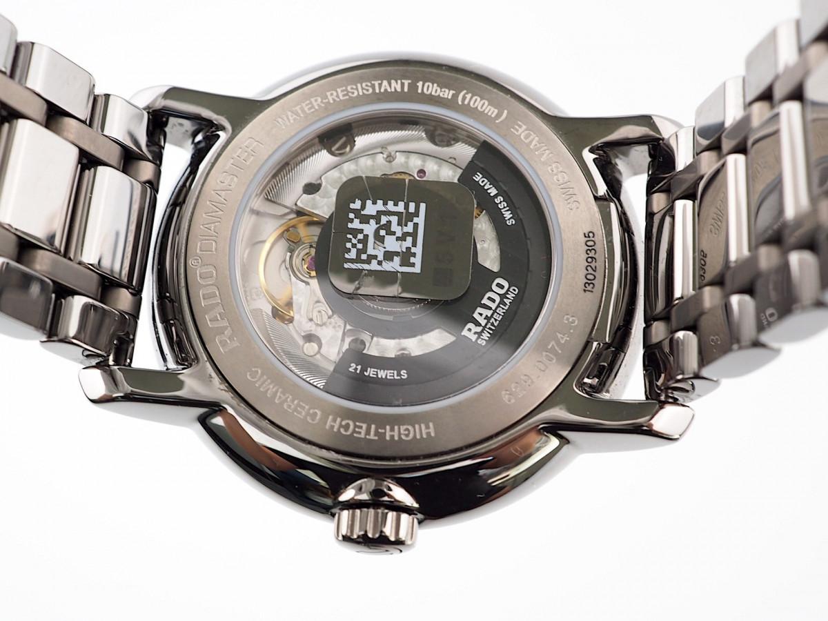 Швейцарские часы Rado DiaMaster XL Silver Dial Automatic