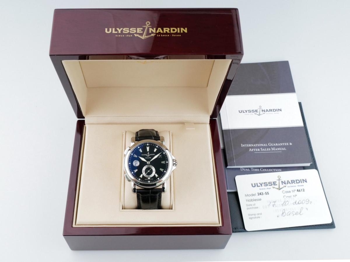 Швейцарские часы Ulysse Nardin GMT Big Date