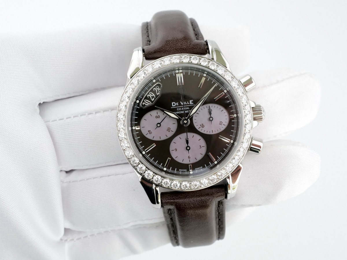 Швейцарские часы Omega De Ville Co-Axial Chronograph