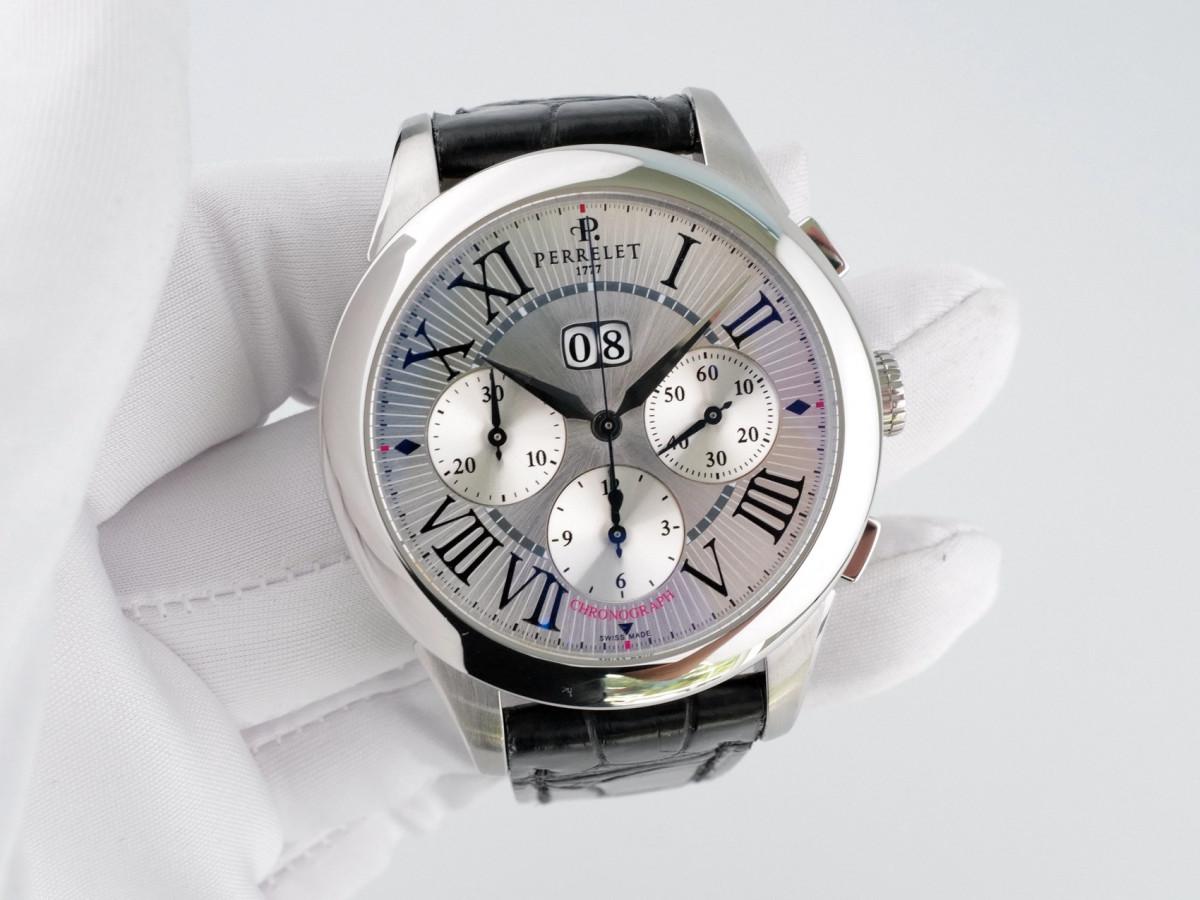 Швейцарские часы Perrelet Big Date Chronograph
