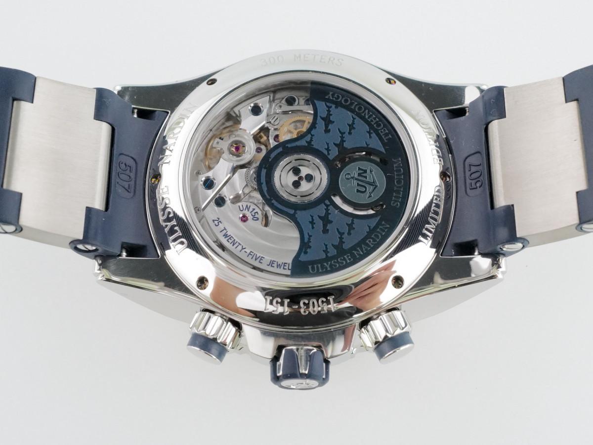 Швейцарские часы Ulysse Nardin Diver Chronograph Hammerhead Shark