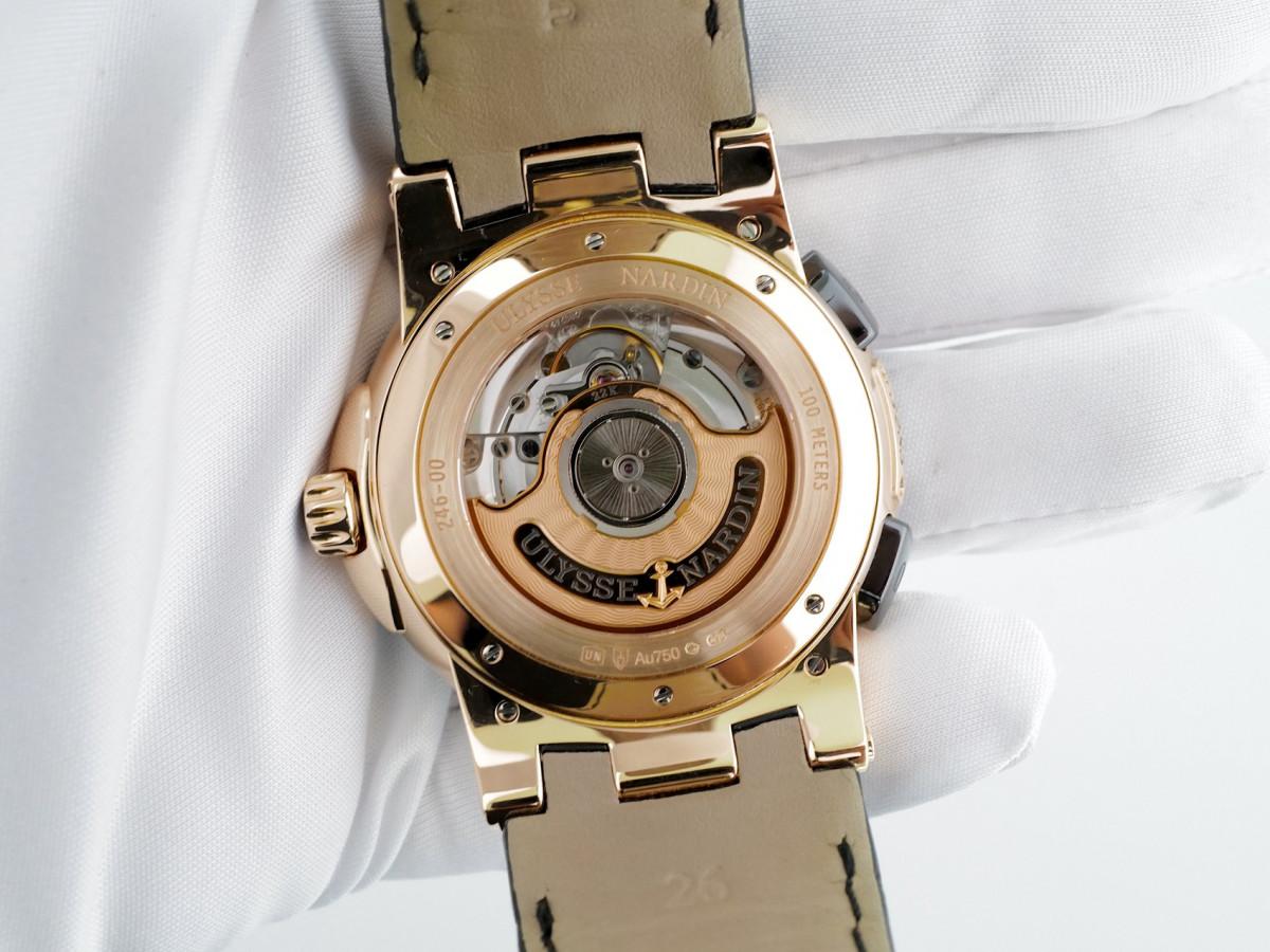 Швейцарские часы Ulysse Nardin Executive Dual Time 18K Rose Gold