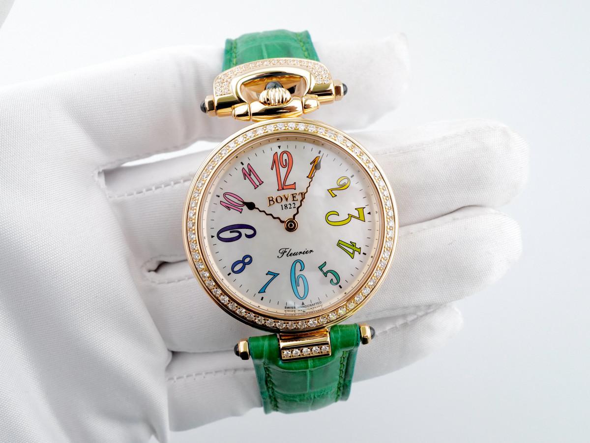 Швейцарские часы Bovet Fleurier Rainbow 39 Rose Gold 18K