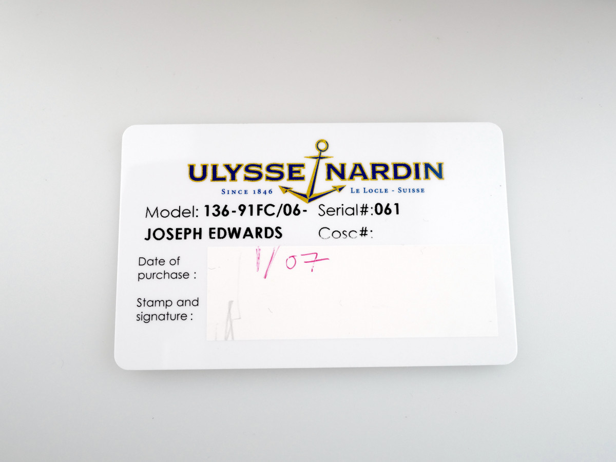 Швейцарские часы Ulysse Nardin Caprice Full Diamonds