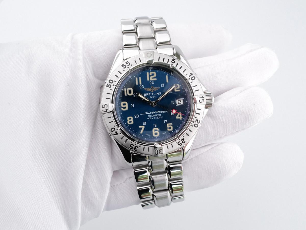Швейцарские часы Breitling Colt Superocean Automatic Blue Dial