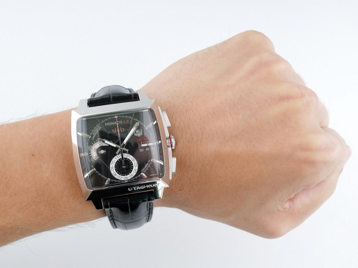 Швейцарские часы TAG Heuer Monaco LS Calibre 12 Chronograph