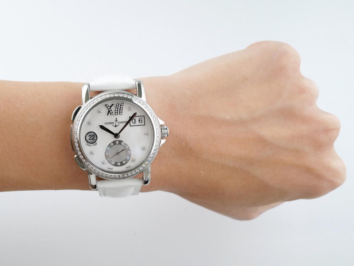 Швейцарские часы Ulysse Nardin Lady Dual Time Big Date Diamonds