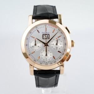 Швейцарские часы Paul Picot Firshire Ronde Big Date 18K Rose Gold Chronograph