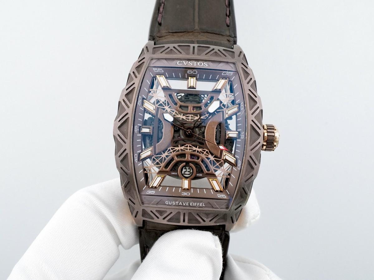 Швейцарские часы Cvstos Challenge Gustave Eiffel Bronze Limited Edition