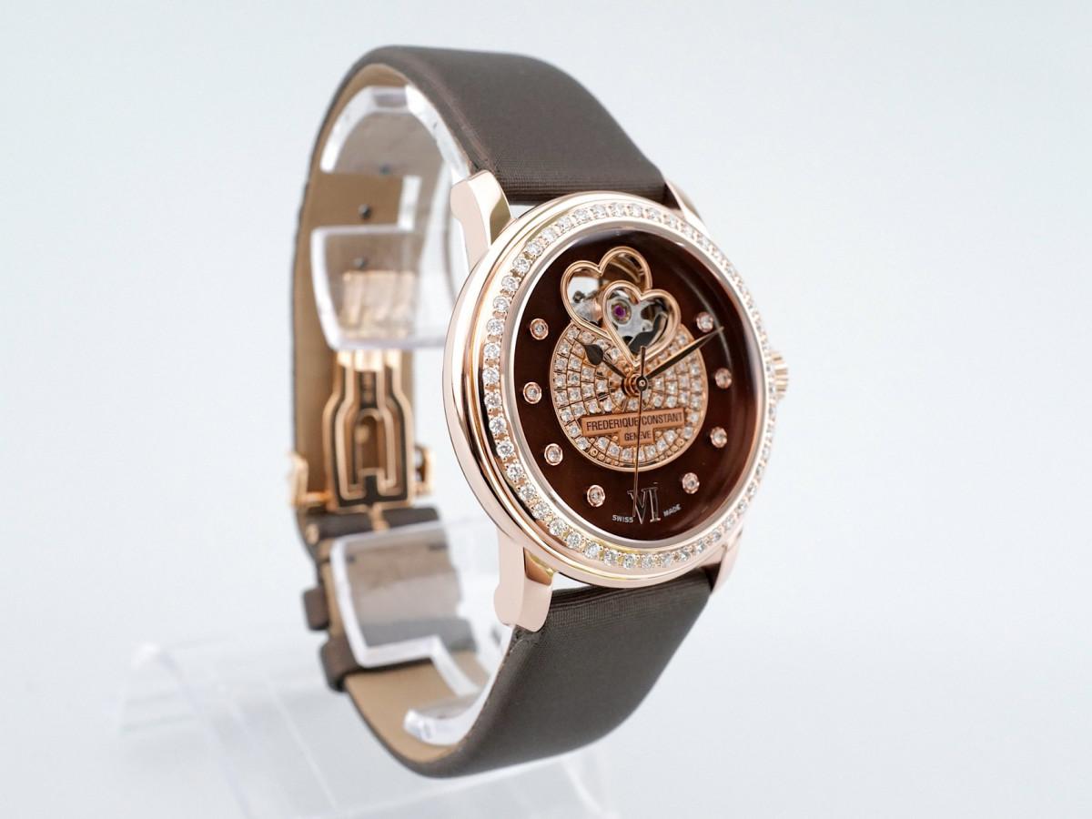 Швейцарские часы Frederique Constant Double Heart Beat Diamond Dial