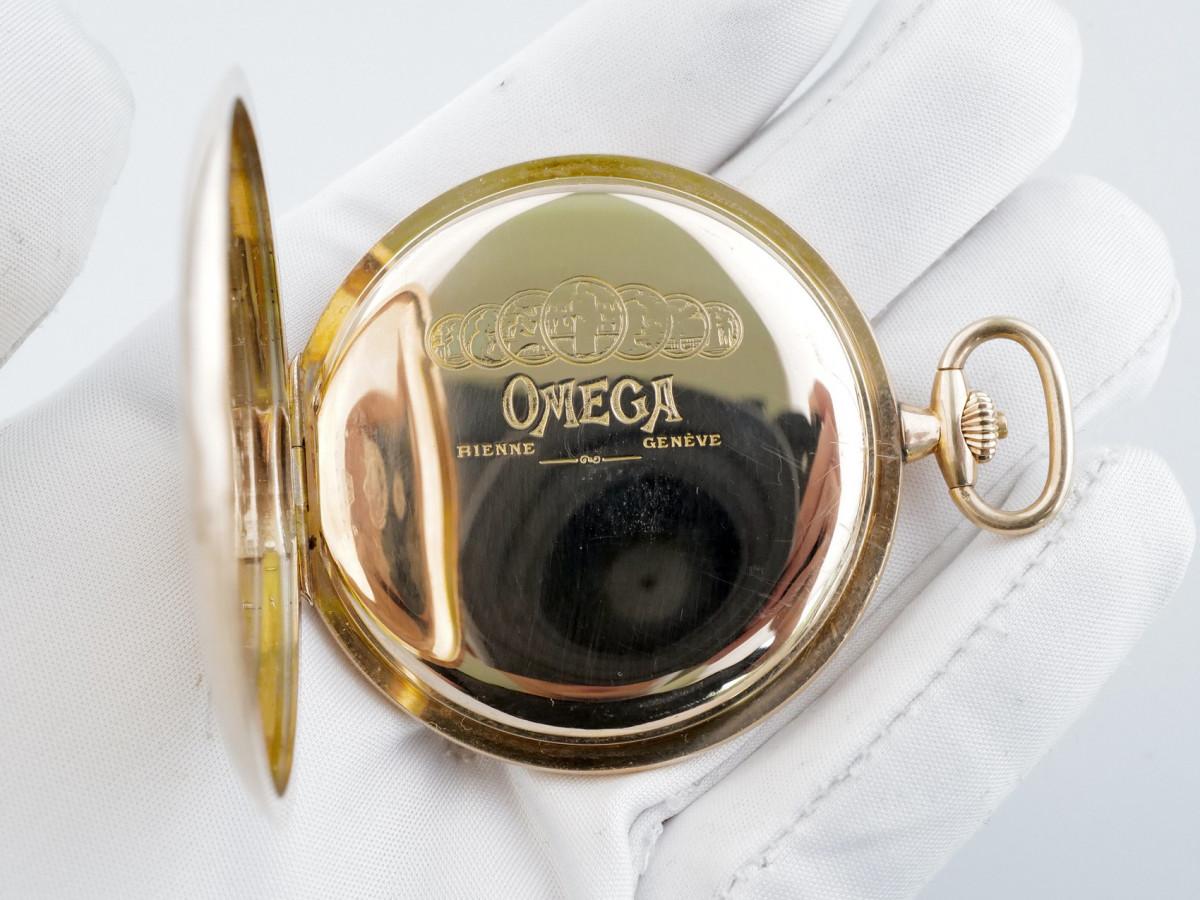Швейцарские часы Omega Pocket Watch 14K Gold