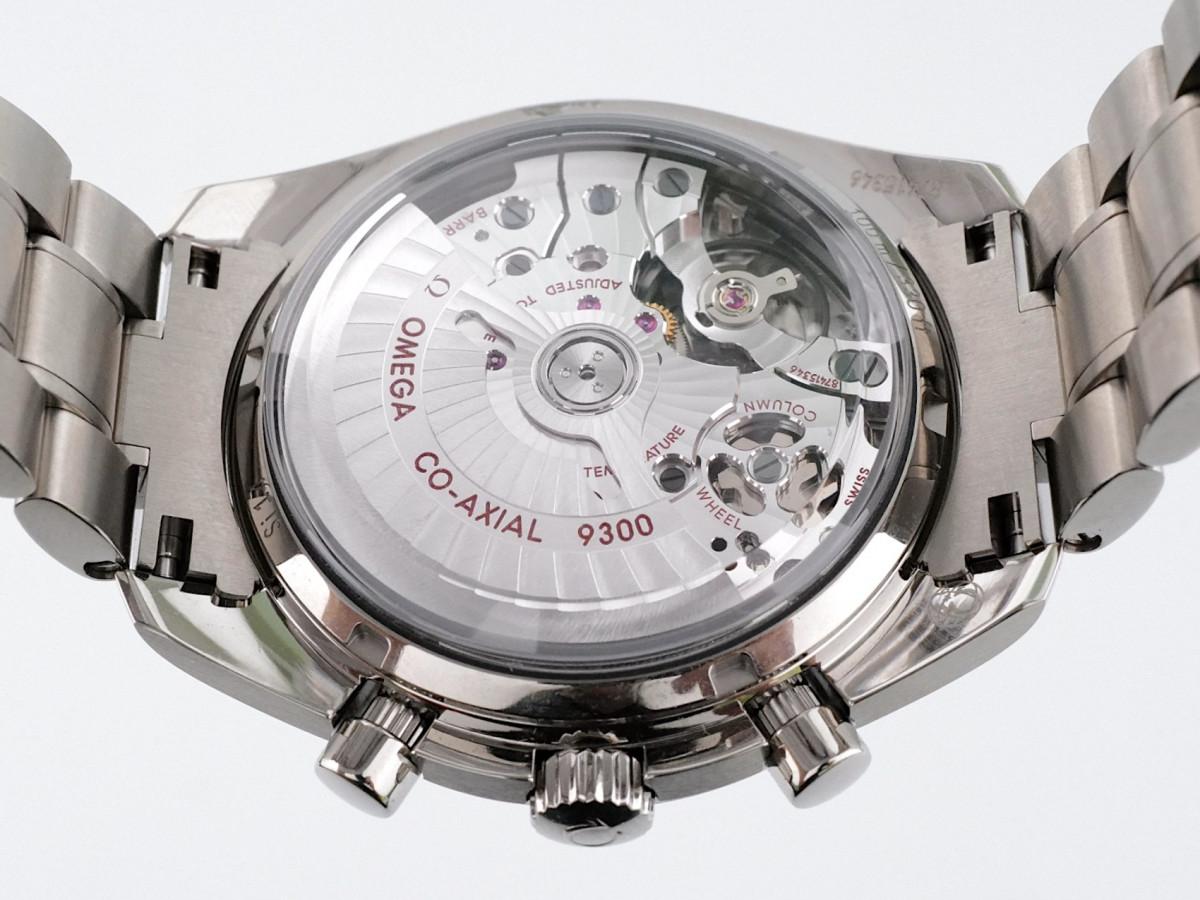 Швейцарские часы Omega Speedmaster Moonwatch Co-Axial Blue Dial Titanium
