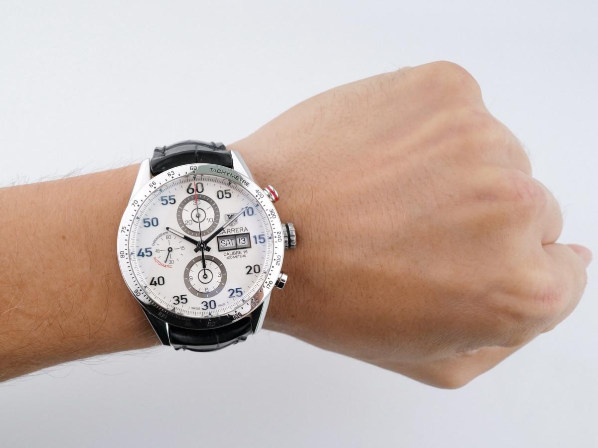 Швейцарские часы TAG Heuer Calibre 16 Day Date Automatic Chronograph