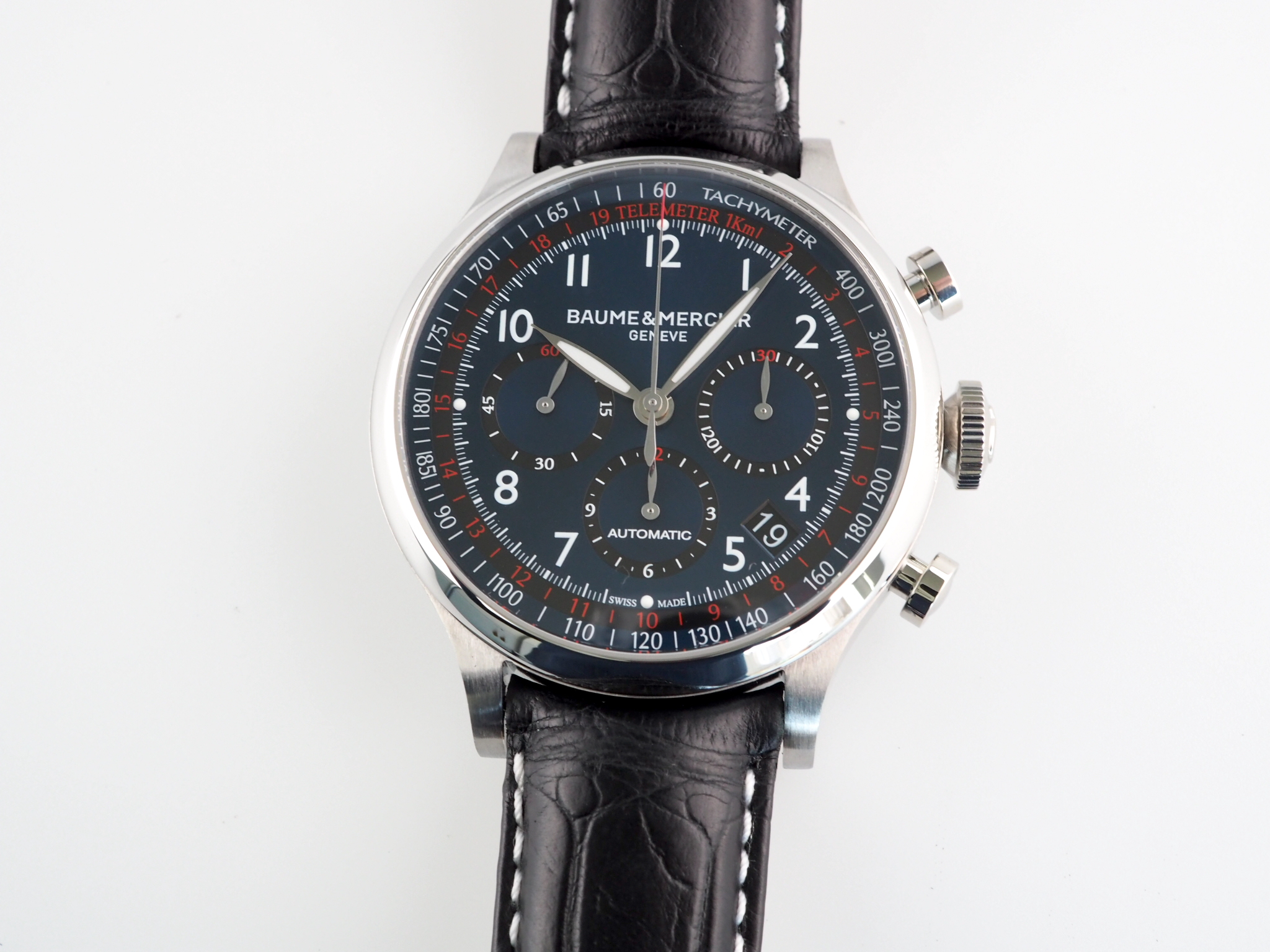 Baume & Mercier Capeland Chronograph Blue Dial