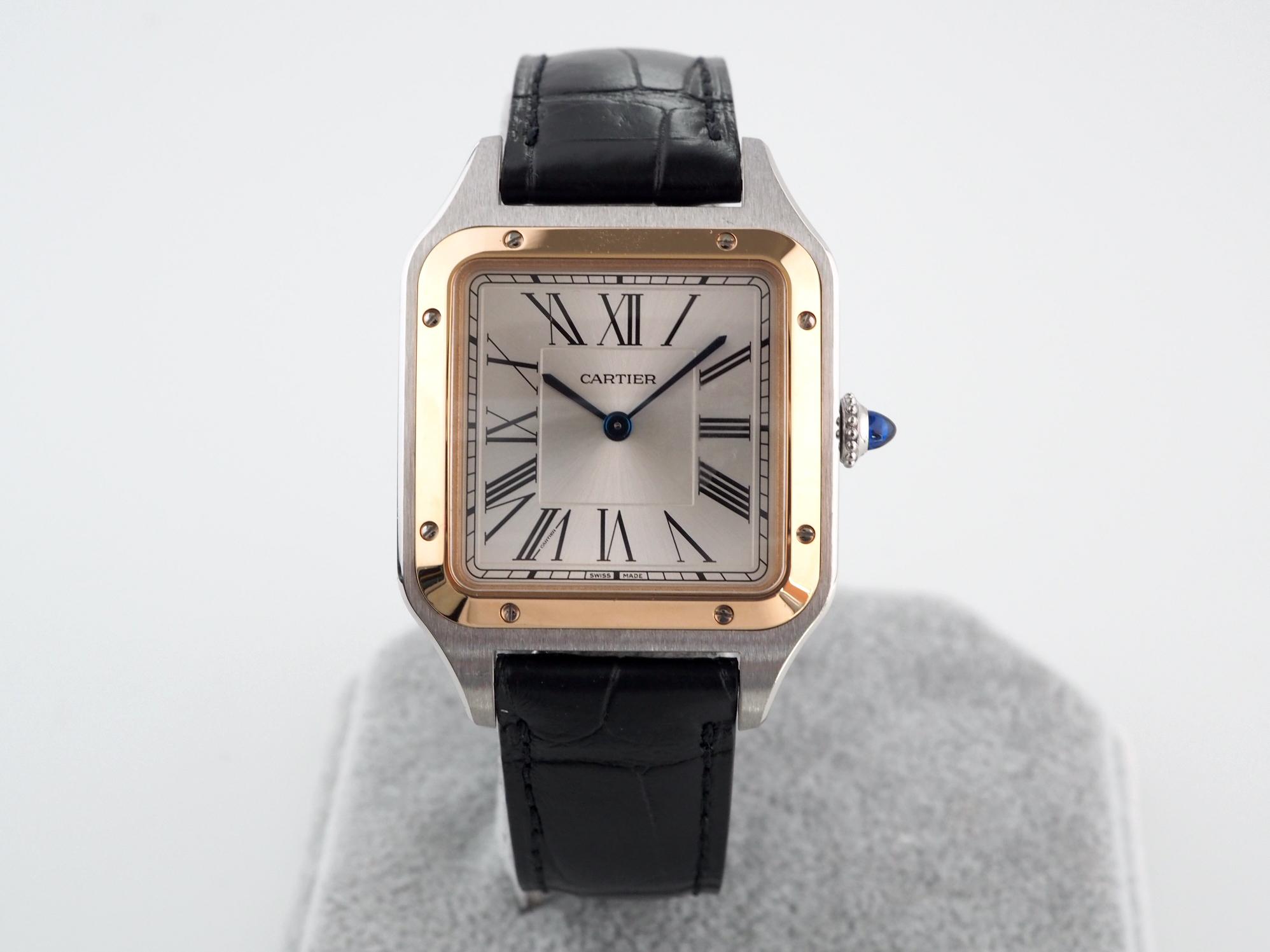 Швейцарские часы Cartier Santos-Dumont