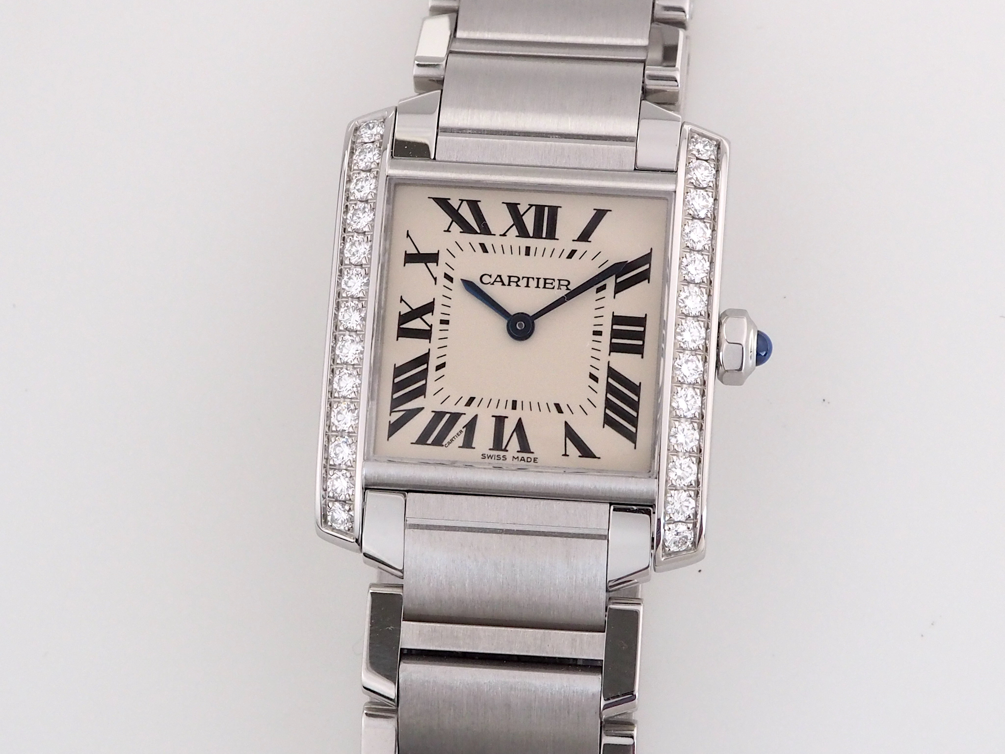 Cartier Tank Diamonds Medium