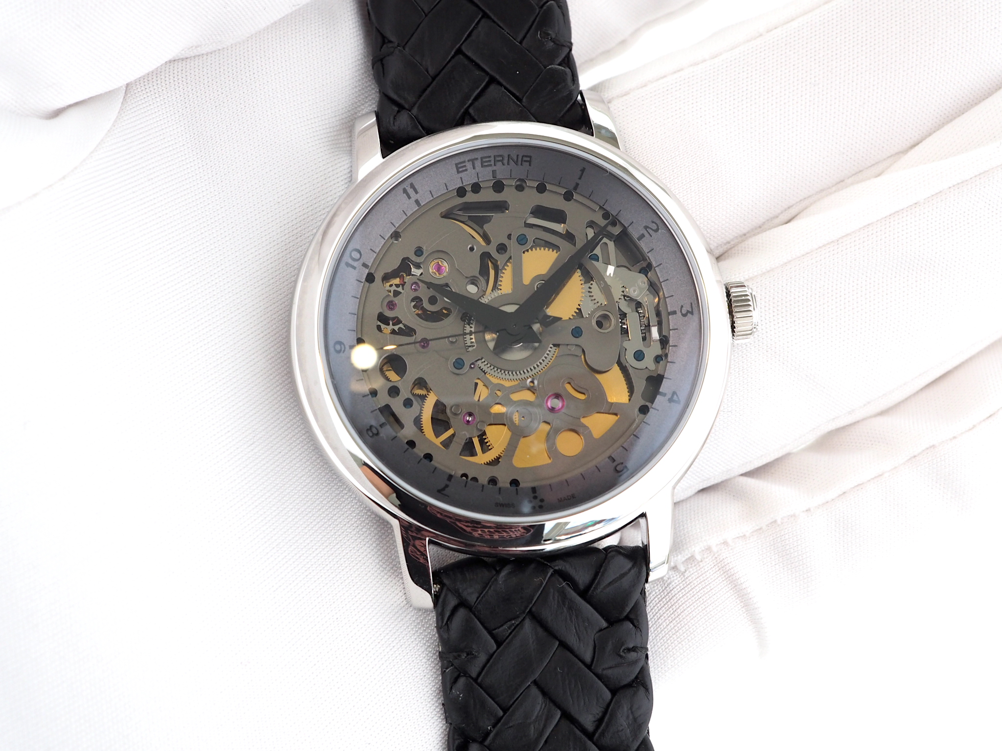 Eterna Special Edition 1856 Skeleton