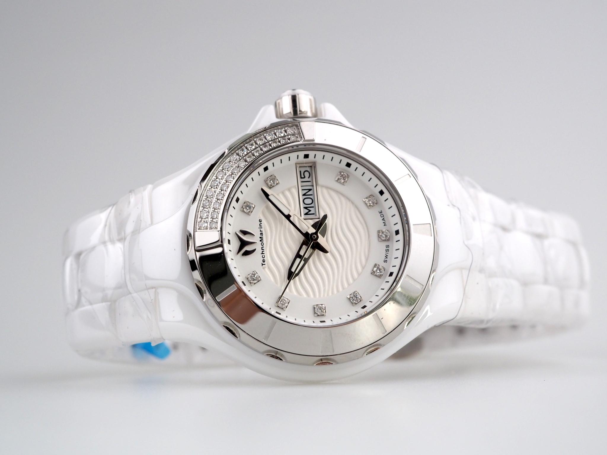 Technomarine Cruise White Diamonds