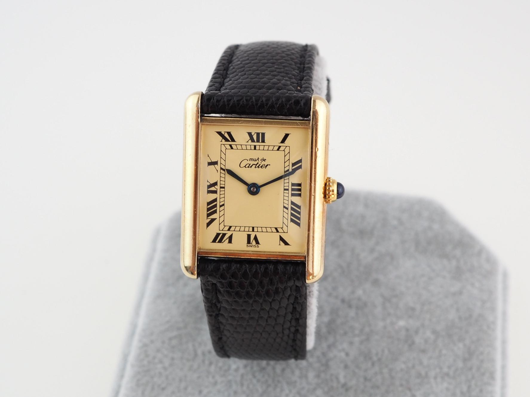 Cartier Must de Cartier Vintage Tank