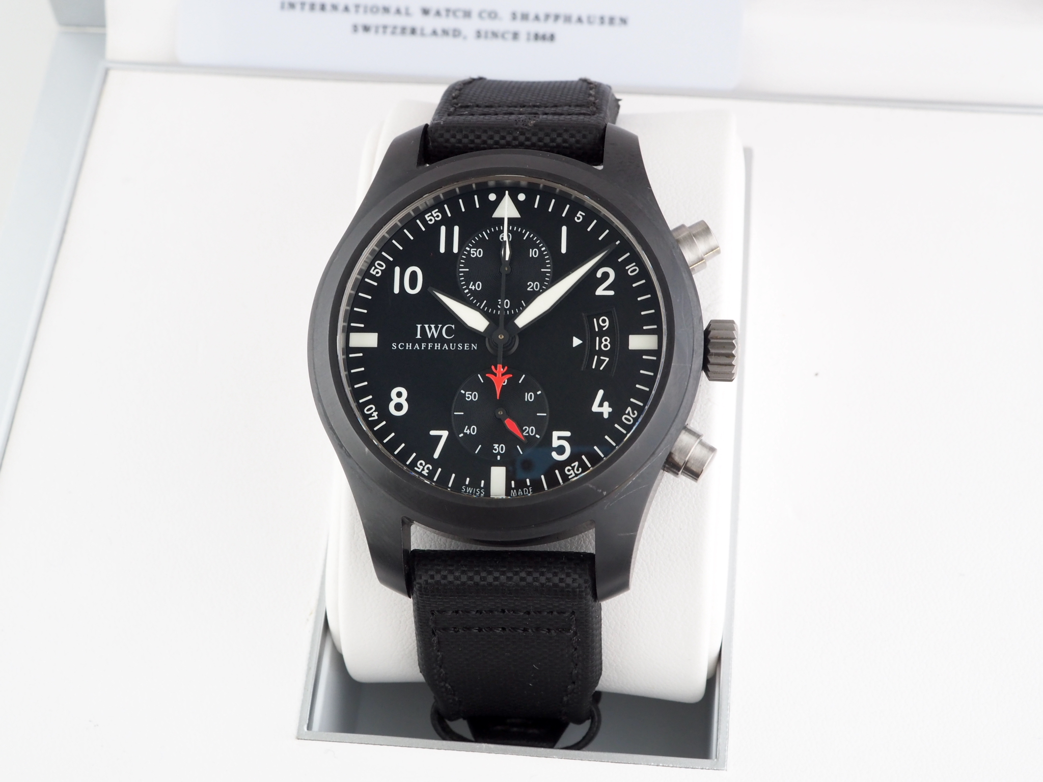 IWC Pilot Top Gun Ceramic Chronograph
