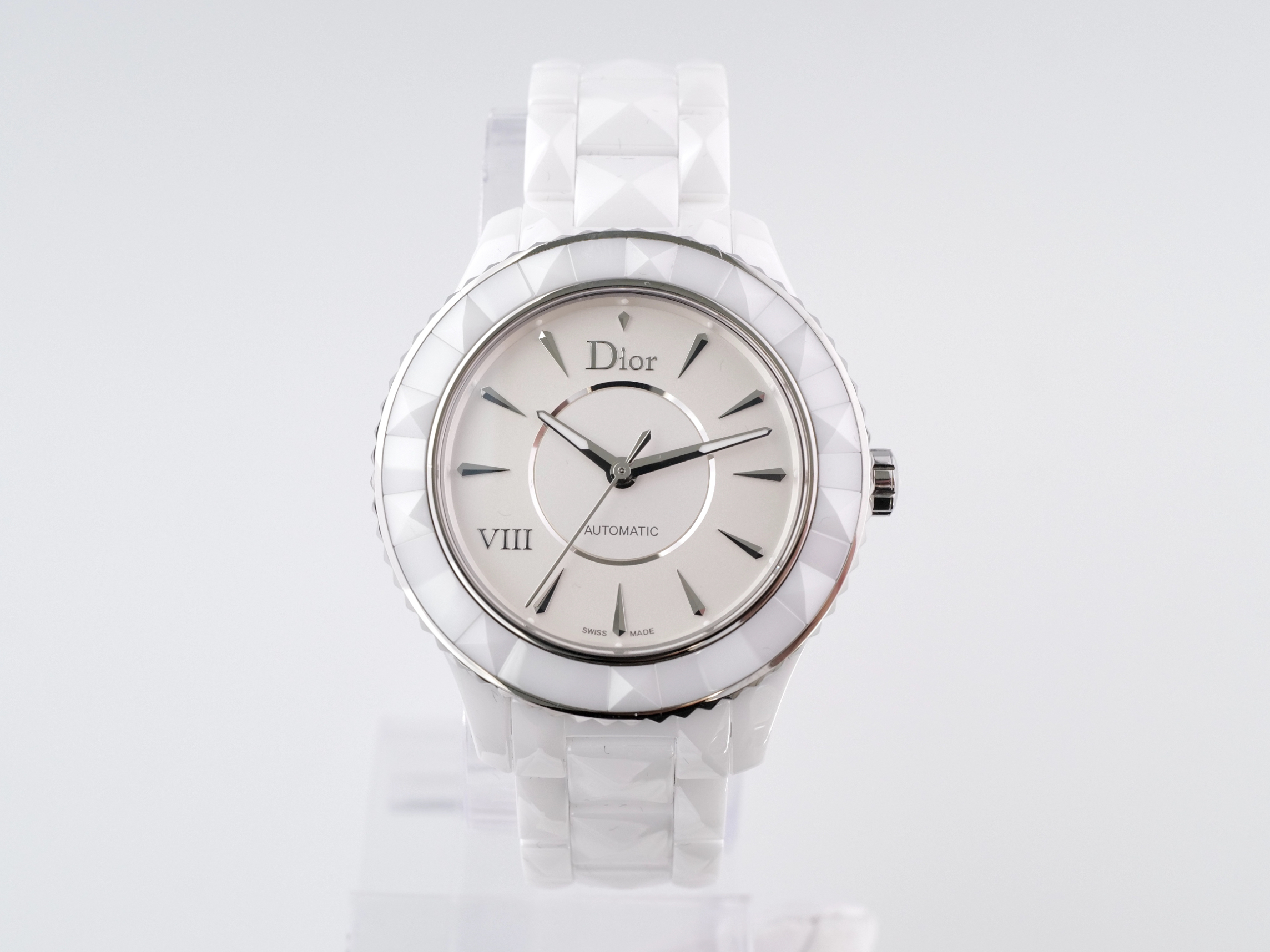 Dior VIII White Ceramic Automatic