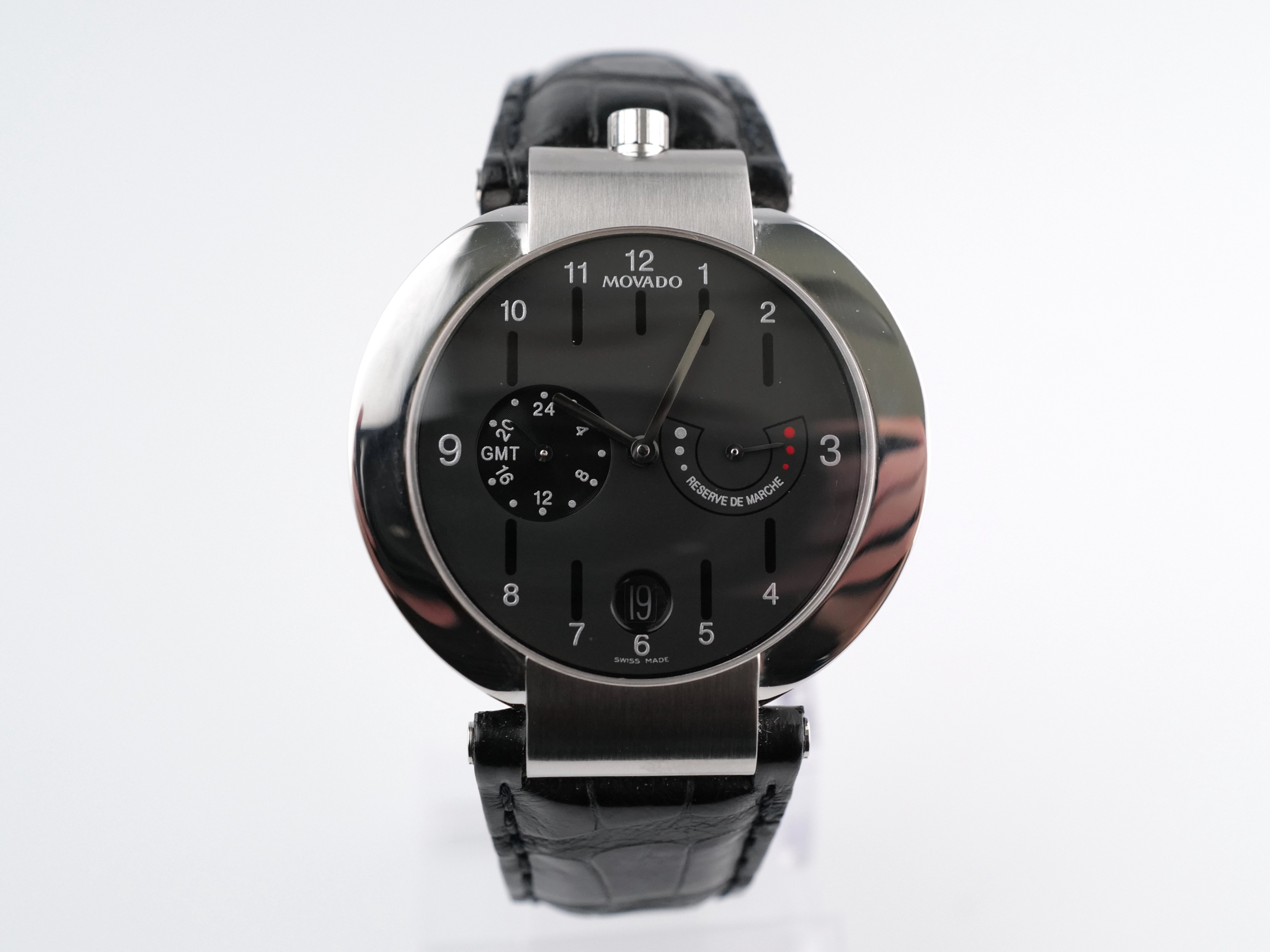 Movado Elliptica Power Reserve GMT