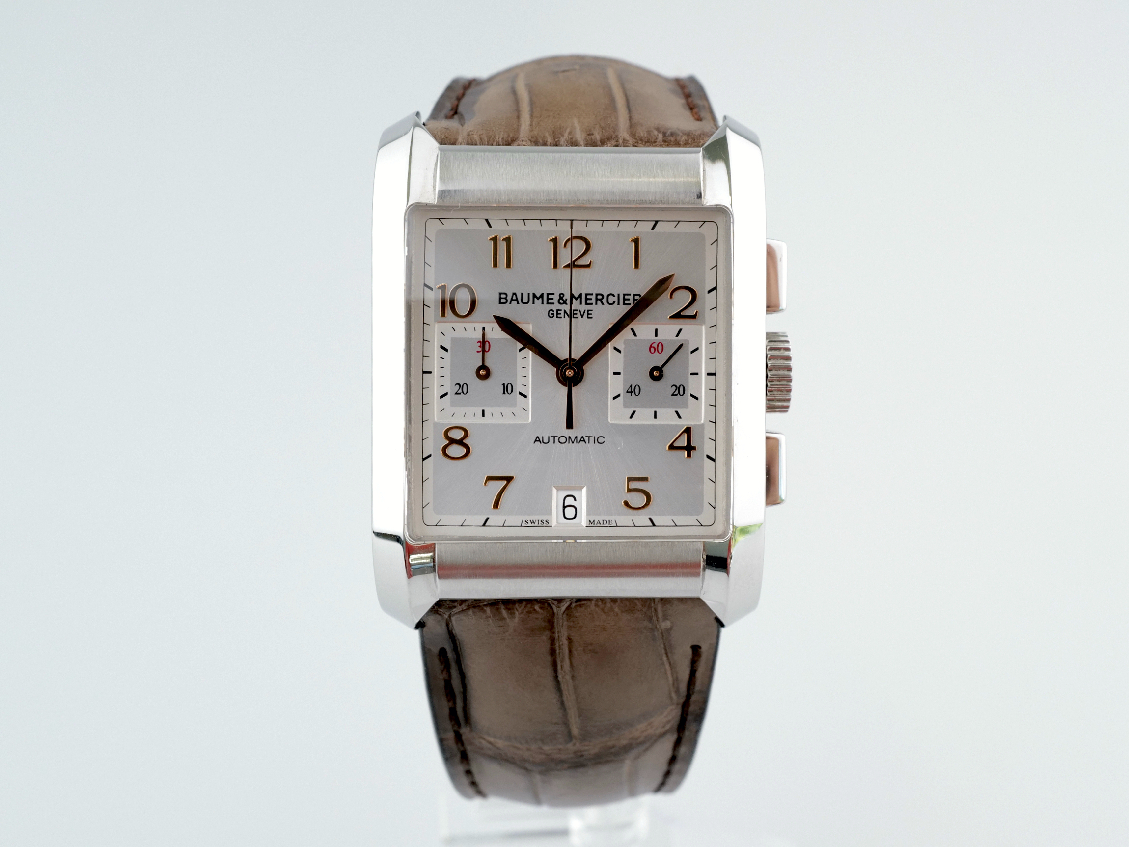 Швейцарские часы Baume & Mercier Hampton Chronograph